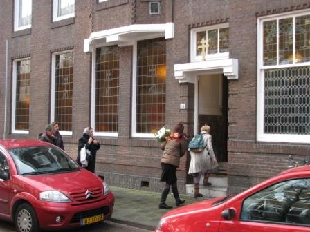 Вход в храм на Persijnstraat 16